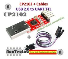 CP2102 USB 2.0 to UART TTL 5PIN Module Serial Converter + Cable for Arduino