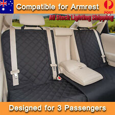 Premium Waterproof Dog Car Seat Covers Pet Seat Cover Nonslip Bench Seat Cover