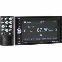 "Boss BV9348B Double DIN In-Dash Bluetooth Digital Car Stereo w/6.2"" TouchScreen"