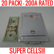 20 SPIM08HP 3.7V 8AH LITHIUM POLYMER BATTERIES 25C 200A SUPER CELLS 24V 36V 48V