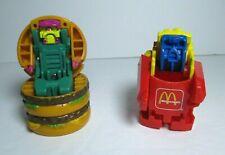 1990 McDonalds Transformers Robot Changeables Burger Happy Meal Mini Figure Lot