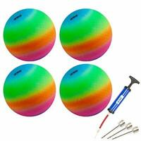 5 Colors Available GSE Games /& Sports Expert 10-inch Classic Inflatable Playground Balls