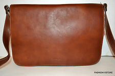 Made In ITALY I Medici Italian Leather Men's  Brown Bag Messenger/Crossbody NWT