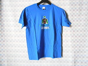 KENTUCKY DERBY 2016 / 142 OFFICIALLY LICENSED YOUTH LARGE T-SHIRT BLUE NWT