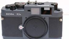 Voigtlander Bessa R3a GREY Rangefinder 35mm Camera - FEW ISSUES - PLEASE READ