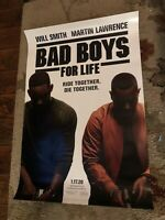 BAD BOYS FOR LIFE great original 27x40 D/S movie poster