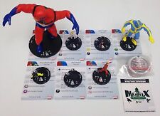Heroclix Age of Ultron set Legacy of Hank Pym COMPLETE lot of 7 figures + 8 pogs