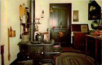 Vintage Postcard Abraham Lincoln's House Springfield Illinois Kitchen