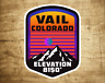 "Vail Colorado Decal Sticker 2.75"" X 3.75"" Skiing Vinyl Ski Glossy"