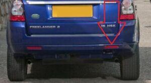 Land Rover Freelander 2 LR2 Right Rear Bumper Red Reflector Insert R New Genuine