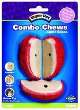 Super Pet Combo Chew Apple Slice 3 Pack Apple