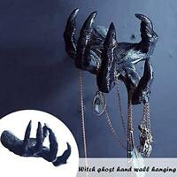 Witch's Hand Wall Hanging Statues Aesthetic Art Sculpture Resin Wall Mount US