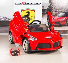 12V Ferrari LaFerrari Kids Electric Ride On Car with MP3 and Remote Control Red