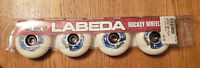 LABEDA Gripper Hockey Wheels Soft 72/78 NEW 4 Pack Roller Blades