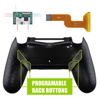 Textured Black Back Cover Dawn Programable Remap Kit for PS4 Slim Pro Controller