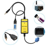 Car 3.5mmUSB MP3 Player Radio Interface AUX In Adapte Fit Honda 2.3