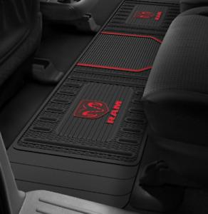 Dodge Ram PlastiColor Moulded Black Floor Mat # 001817R01