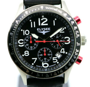 ELYSEE Chronograph Racetrack 1 - Quartz Armbanduhr - 80560WB