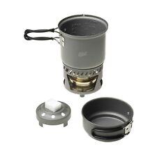ESBIT CS985HA solid liquid alcohol burner cookset camping hiking trekking travel