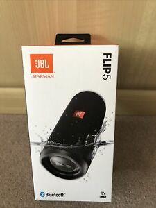JBL Flip 5 Portable Waterproof Bluetooth Speaker Black