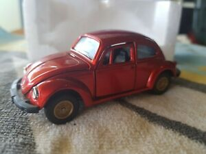 TOMICA DANDY F11  - VOLKSWAGEN BEETLE [DARK RED] NEAR MINT VHTF BOX EXCELL JAPAN