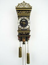 Antique Warmink WUBA Dutch REPAIR Hindeloopen Vintage Wall Clock (Junghans era)