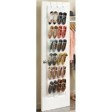 Over-The-Door Shoe Organizer, Clear,Storage,Home,Closet ,Room,Shelf,Rack, Storing