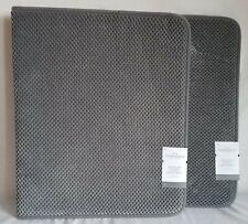 "New Listing2 Bubble Memory Foam Bath Rugs 20""x34"" Dark Gray - Threshold Bath Mat"