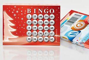 100 Bingokarten für die Weihnachtsfeier