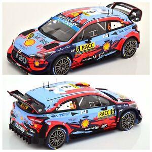 1/18 Ixo Hyundai i20 Coupe WRC N°6 D.Sordo Rallye Catalogne 2019 Livrai Domicile