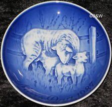 1987 BING & GRONDAHL / ROYAL COPENHAGEN PIATTO DELLA MAMMA TOP PRIMA SCELTA