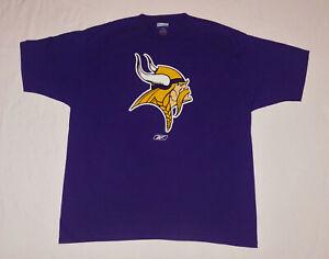 Minnesota Vikings NFL Reebok Football Team Logo Shirt XL NEW Unworn!