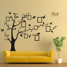 Family Tree Frames Photo Removable Vinyl Wall Decal Wall Stickers Size 200x250