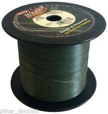 (0,096€/m) BERKLEY WHIPLASH Green je 25m, 0,06mm/10,6kg, geflochtene Angelschnur