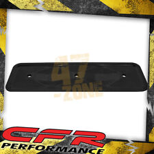 1962-74 Chevy Straight Inline 6 Cylinder Steel Valve Cover Side Plate - Black