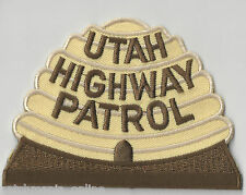 UTAH HIGHWAY PATROL - SHOULDER - IRON ON PATCH
