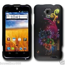 ZTE Mustang Z998 (AT&T) Hard Case Snap-on Phone Cover Case Snow Flakes