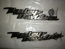 OEM Genuine Harley Touring Dyna Softail Sportster Fuel Gas Tank Emblems Badges