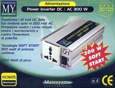 Inverter DC/AC 300W Matsuyama CAMPER CAMPING ecc.