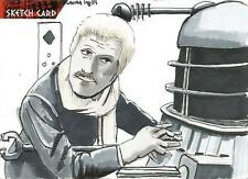 Dr Doctor Who Daleks 2150AD Sketch Card by Laura Inglis of The Doctor & Dalek