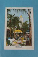 VINTAGE 1948 BAKERSFIELD INN SOUVENIR RESTAURANT DINNER MENU, CALIFORNIA