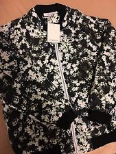 Givenchy Green Flower Jacket Size L