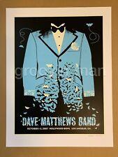 Dave Matthews Band HOLLYWOOD BOWL Los Angeles CA FALL 2007 Tour Poster #636/800