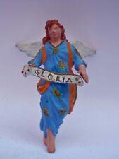 PRESEPE vecchia statuina terracotta ANGELO angel nativity da capanna