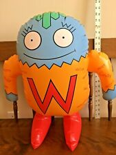 """Vintage The Letter People/ Ms.W-Wonderful Words 20"""" Tall Huggable Inflatable 97"""