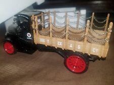 1918 Mack AC Bulldog Flatbed Truck Die Cast Texaco Bank by Ertl Collectibles NIB