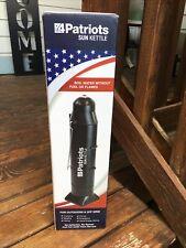 4Patriots Sun Kettle Rocket Solar Hot Water Heater