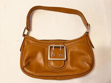 BCBG Girls BCBGirls Hand Saddle Bag Tan Handbag Purse Tote Fast Shipping World!!