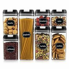Airtight Food Storage Containers Cereal & Dry Food Storage Container Set Of 7