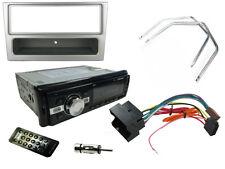 VAUXHALL MERIVA 05-10 unità di testa stereo auto radio bluetooth mp3, fascia d'argento